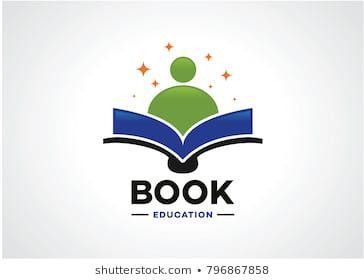 Book Education Logo Template Design Vector Emblem Design Concept