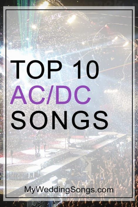 Best Ac Dc Songs Top 10 Song List Of All Time With Images