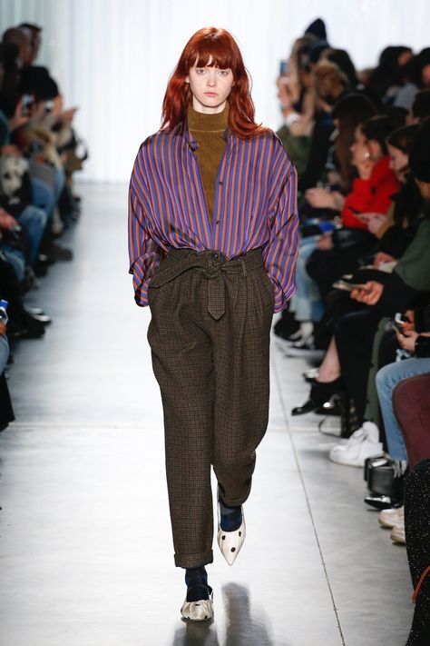 The complete Creatures of Comfort Fall 2018 Ready-to-Wear fashion show now on Vogue Runway. #FallFashionTrends