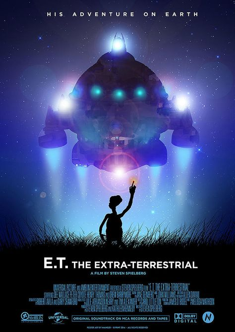 E.T. the Extra-Terrestrial by Mainger Germain