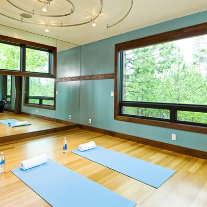 Home Gym Ideas And Gym Rooms To Empower Your Workouts Gym Design Gym And  Room With Home Yoga Studio Design Ideas.