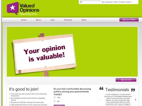 Valued Opinions Is A Survey Website Which Claims To Paid Their