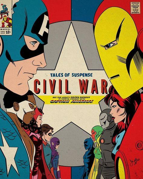 Captain America: Civil War, by @john.black