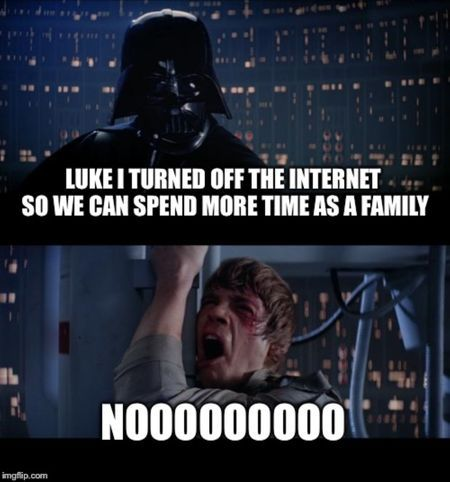 Pin By Snippy Soka On Star Wars In 2020 Star Wars Humor You Are The Father Star Wars Memes