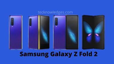 Meet Samsung Galaxy Z Fold 2 Snapdragon 875 Samsung Galaxy Galaxy Samsung