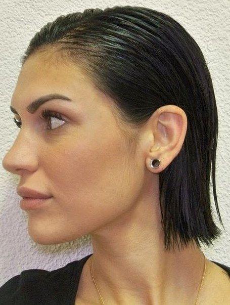 15 Stilvolle Nasse Frisuren Neue Frisuren Wet Look Hair Short Hair Styles Sleek Back Hair