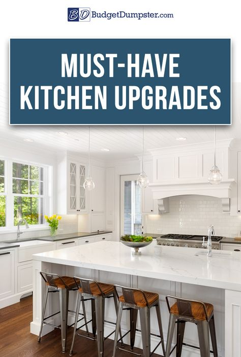 Give your kitchen a new look without blowing through your budget. Learn everything from installing doors, windows and trim to picking the perfect cabinets and countertops. We'll walk you through the remodeling process from start to finish so you're left with a complete kitchen makeover. Click to read How to Remodel A Kitchen on a Budget and upgrade your space today!