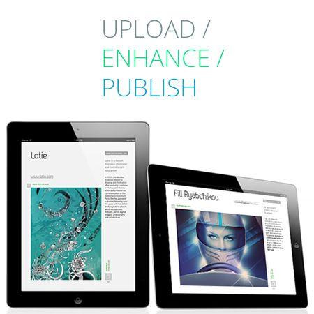 yudu - upload enhance publish