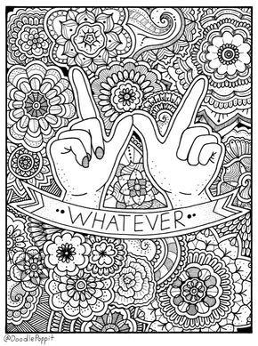 Coloring Page Coloring Book Pages Printable Adult Coloring Hand