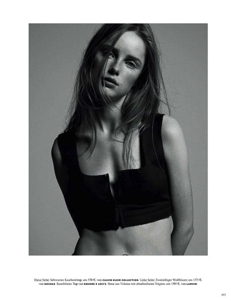 Ondria Hardin - Luigi + Iango - Vogue Germany - June 2015