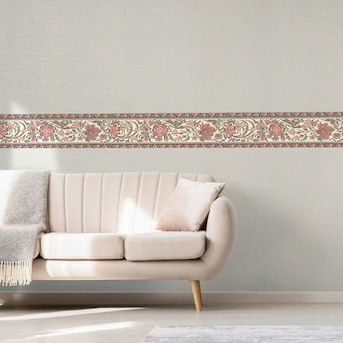Dundee Deco 6 8 In Prepasted Wallpaper Border Lowes Com Prepasted Wallpaper Wallpaper Border Vine Wall
