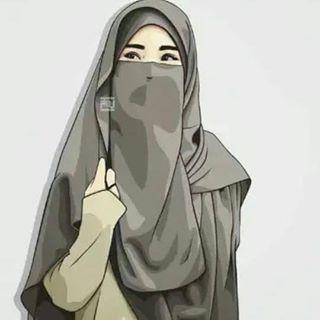Gambar Wallpaper Animasi Muslimah Wallpaper Kusmia Kartun Hijab Animasi Gambar Gadis Cantik