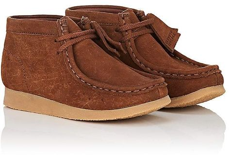 to buy low cost good quality Clarks BNY Sole Series: Kids' Nubuck Wallabee Boots #ad ...