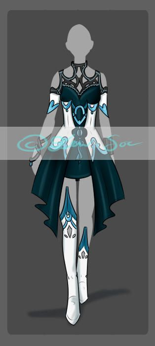 Vela S Outfit Clothes Design Fantasy Clothing Adventure Outfit