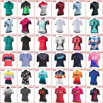 Women/'s Cycling Jersey Clothing Bicycle Sportswear Short Sleeve Bike Shirt  X12
