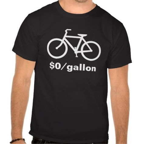 Simple Bicycle Funny Shirts