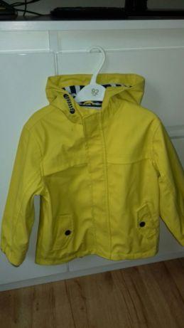 Kurtka Parka Gumowa Przeciwdeszczowa Musztardowa Zolta Zara H M Brzesko Image 1 Rain Jacket Athletic Jacket Puma Jacket