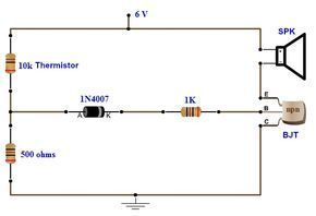 Simple Fire Alarm Circuits Using Germanium Diode And Lm341 At Low Cost Firealarmdesign Fire Alarm Alarm Circuit