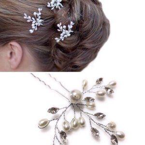 髪飾り かんざし パール 結婚式 着物 成人式 卒業式 ヘアアクセサリー