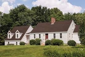 Image Result For Brown Roof Linen White House White Trim Red Door Roof Shingle Colors Brown Roofs Exterior Paint Colors For House