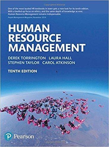 Torrington Human Resource Management 10th Edition Pdf Version Human Resource Management Human Resources Management Books