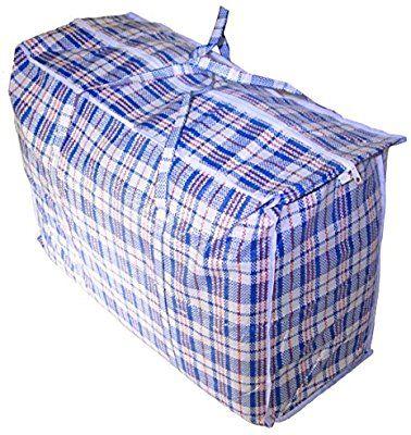 Jumbo Plastic Checkered Storage Laundry