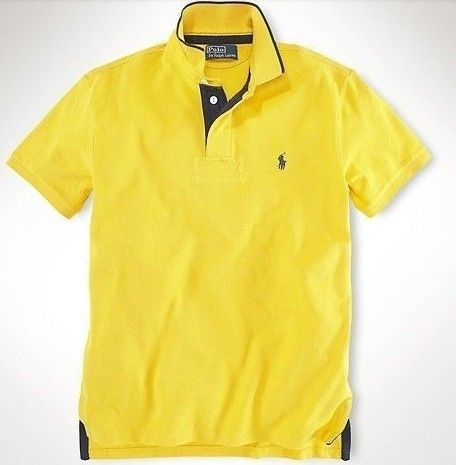 5d4428a0e0 2019 的 Maglietta Polo Ralph Lauren Uomo Small Pony Custom Fit Mesh ...