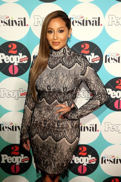 Adrienne Bailon attends the 5th Annual Festival PEOPLE En Espanol in NYC.