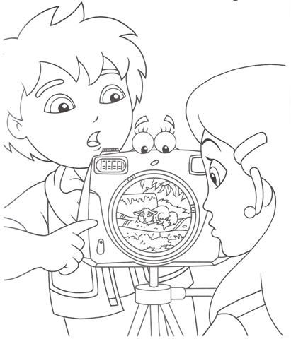 Go Diego Coloring Pages - Plus many many more!!! | For Momma\'s ...