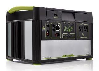 New Review Useful Goal Zero Yeti 1000 Lithium Portable Power Station 1045wh Silent Gas Free Generator Alternative W Solar Generator Solar Portable Power