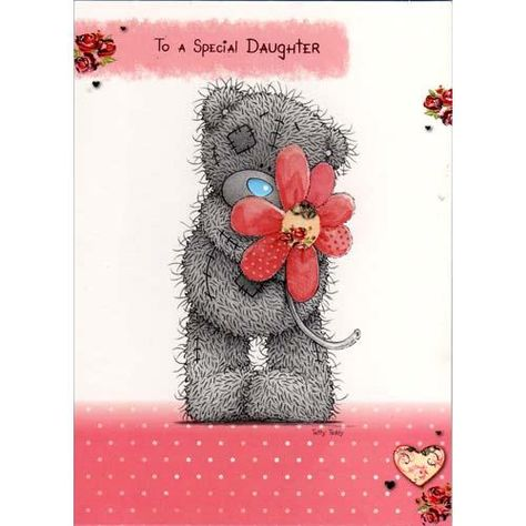 Daughter Birthday Me to You Bear Card (A01SS086) : Me to You Online ...