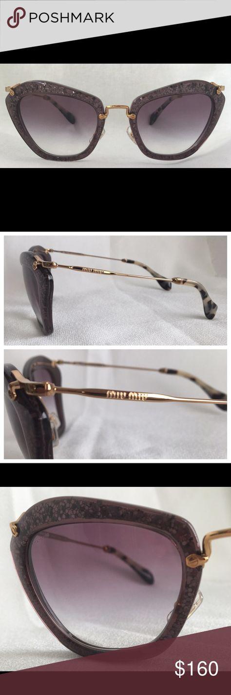 9de4f30225f3 Miu Miu Sunglasses MU10NS color TKC-4W1 size 55 Miu Miu Sunglasses MU10NS  color TKC
