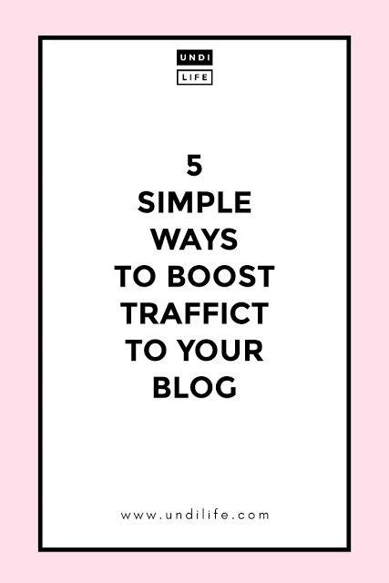5 Cara Sederhana Untuk Meningkatkan Traffic Blog Blogger Harus Coba Menjadi Penulis Blog Sederhana