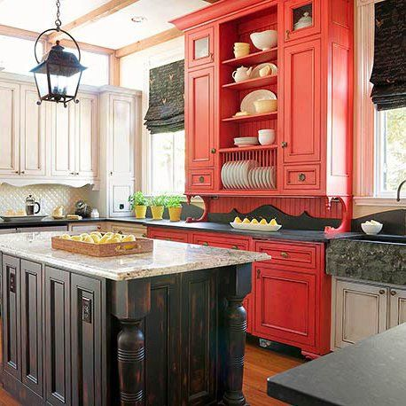 Refresh Your Kitchen With These Colorful Cabinetry Ideas Kitchen