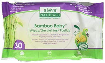 Aleva Naturals Bamboo Baby Wipes 80-Wipes