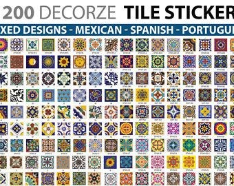 traditional wall tiles stickers tiles