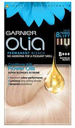 Garnier Olia Maximum Bleach Blonde Permanent Hair Dye No Ammonia