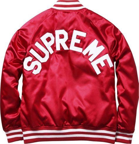 Supreme Champion Satin Jacket Mens