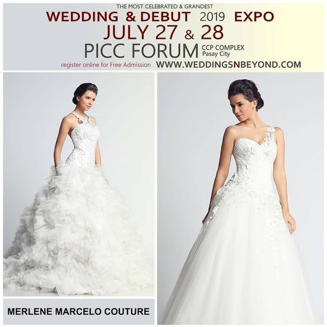 A gown unlike any other is the promise of Merlene J. Marcelo Couture, as she com..., #bridalfair #bridalfair2019 #bridalgowns #couture #debut #debutsph #gown #Marcelo #Merlene #merlenemarcelocouture #Promise #weddinganddebutexpo #weddingdress #weddingexpo2019 #Weddings #weddingsandbeyond #weddingsnbeyond #weddingsph,weddingsandbeyond ,weddingsnbeyond ,merlenemarcelocouture ,weddingsph...