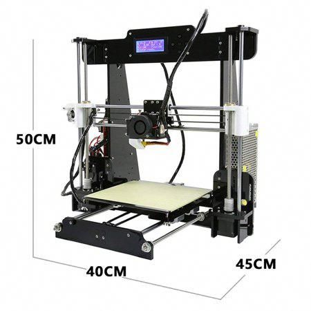 Anet A8 3d Printer Desktop Acrylic Lcd Screen Printer 220 X 220 X 240mm Compatible With Windows Xp 7 8 10 Mac Printer 3d Printer Kit Computer Assisted Design