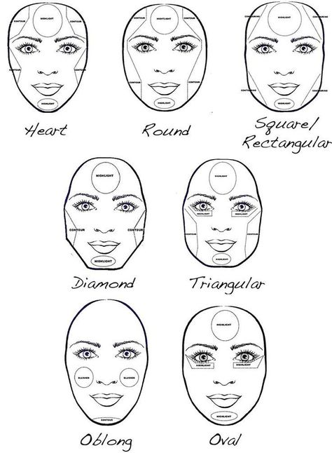How to make your face look slimmer, makeup contouring tips and tricks.   http://makeuptutorials.com/5-tutorials-teach-make-face-look-thinner/