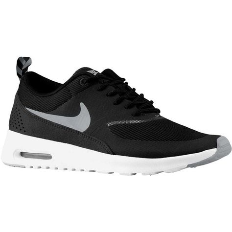 low priced 6b3e7 8b48c Nike Air Max Thea - Women s - Running - Shoes -... (290 PEN) ❤ liked on  Polyvore featuring shoes, kohl shoes, black shoes, white colour shoes, nike  and ...