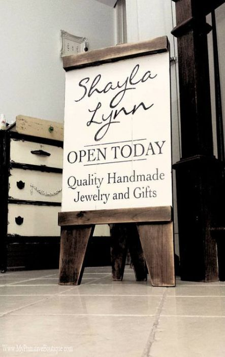 Wooden Business Signs A Frame