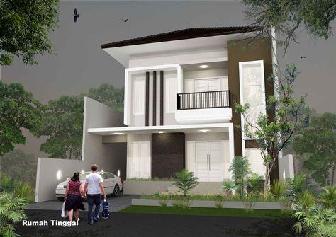 rumah minimalis 2 lantai - google search (dengan gambar