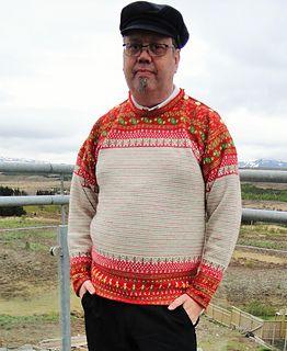 Korsnäs Sweater pattern by Patrick Hassel Zein | Stickat