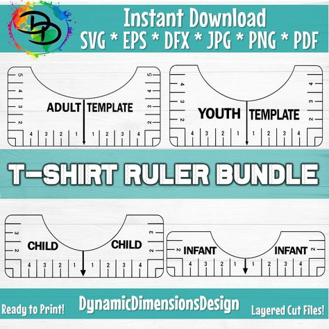 Tshirt Ruler Alignment Tool