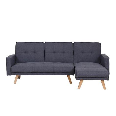 Cornis Contemporary Corner Sofa Bed In