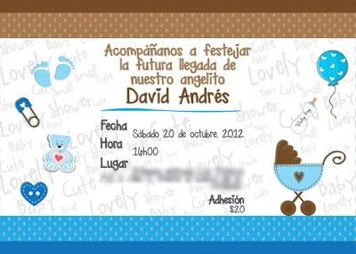 10 Invitaciones Para Baby Shower Niña Y Niño Baby Shower
