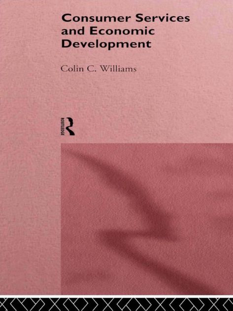 Consumer Services and Economic Development (eBook)