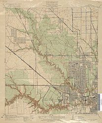 Map Of Texas 1915.Houston Heights 1915 Usgs Elle Projects To Do Map Of
